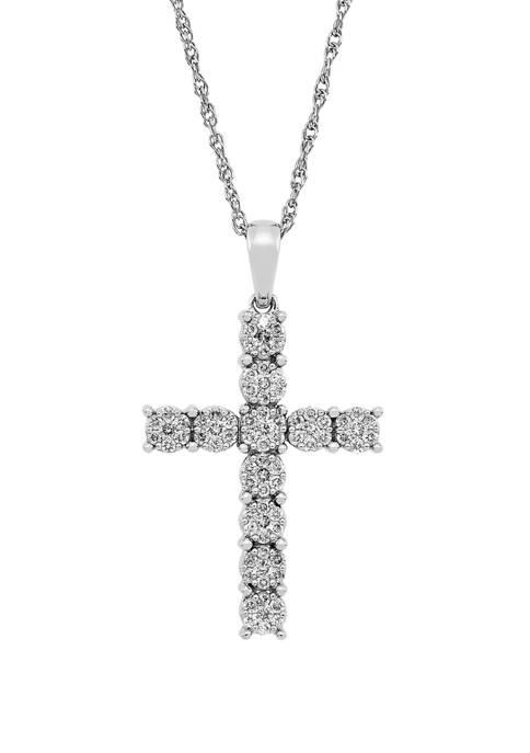 Belk & Co. 1/2 ct. t.w. Diamond Cross