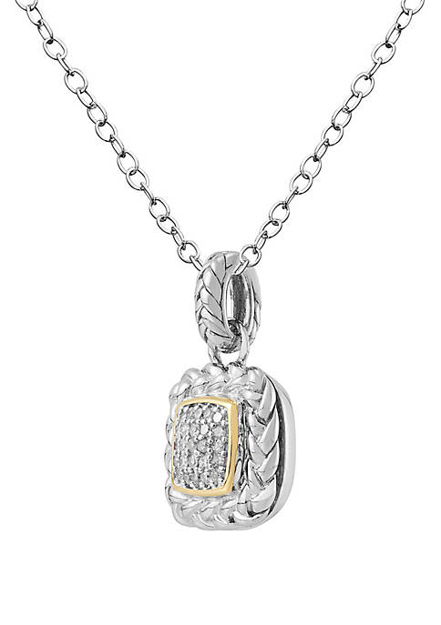 Belk & Co. 1/6 ct. t.w. Diamond Pendant