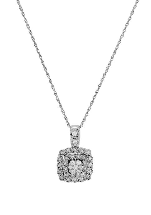 Belk & Co. 1/2 ct. t.w. Diamond Pendant