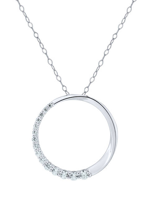 Belk & Co. 1/4 ct. t.w. Diamond Circle