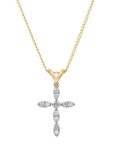 Belk & Co. 1/4 ct. t.w. Diamond Cross