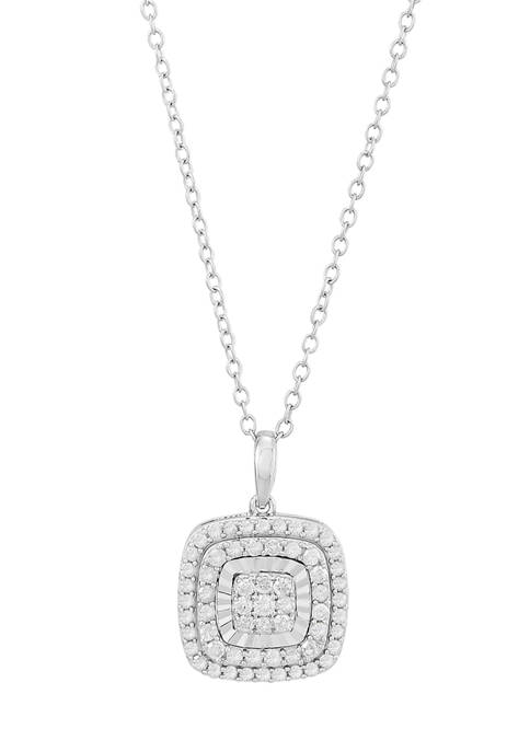 Belk & Co. 1/2 ct. t.w. Square Diamond