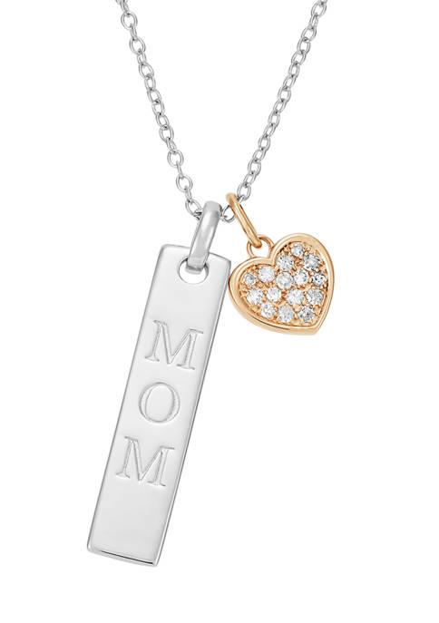 Belk & Co. 1/10 ct. t.w. Diamond Mom