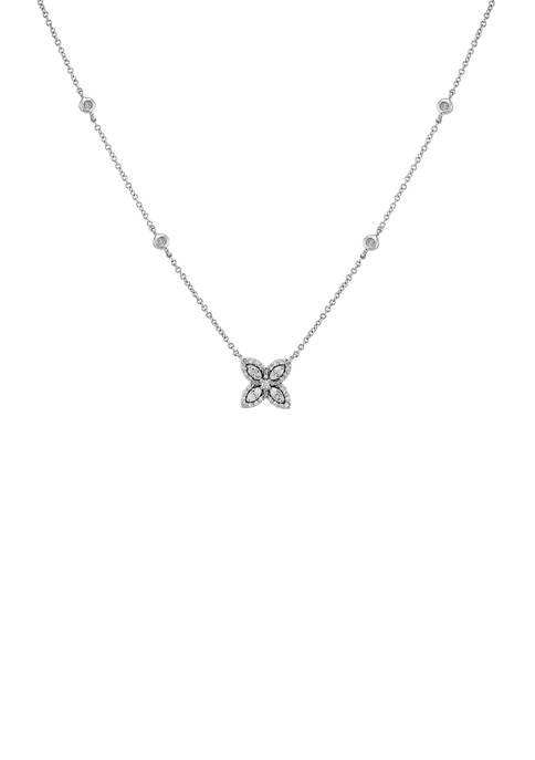 Belk & Co. 1/4 ct. t.w. Diamond Pendant