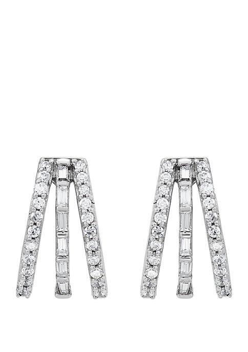 Belk & Co. 1/2 ct. t.w. Diamond Earrings
