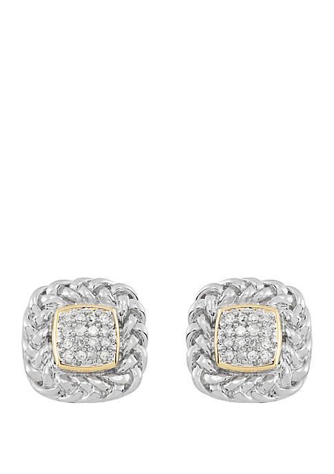 Belk & Co. 1/6 ct. t.w. Diamond Earrings