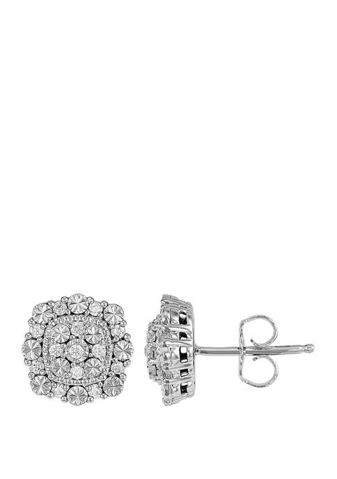 Belk & Co. 1/4 ct. t.w. Diamond Earrings