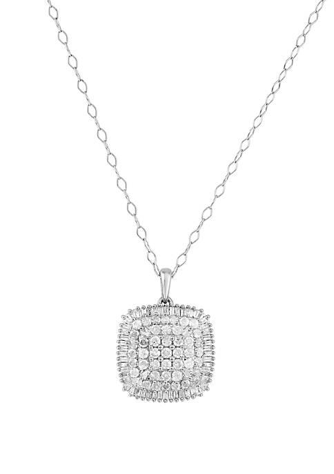 Belk & Co. 1 ct. t.w. Diamond Pendant