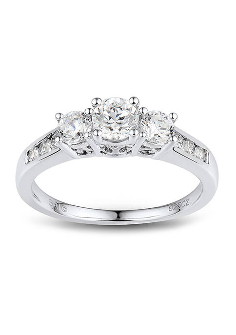 1 ct. t.w Diamond Engagement Ring in 14K White Gold