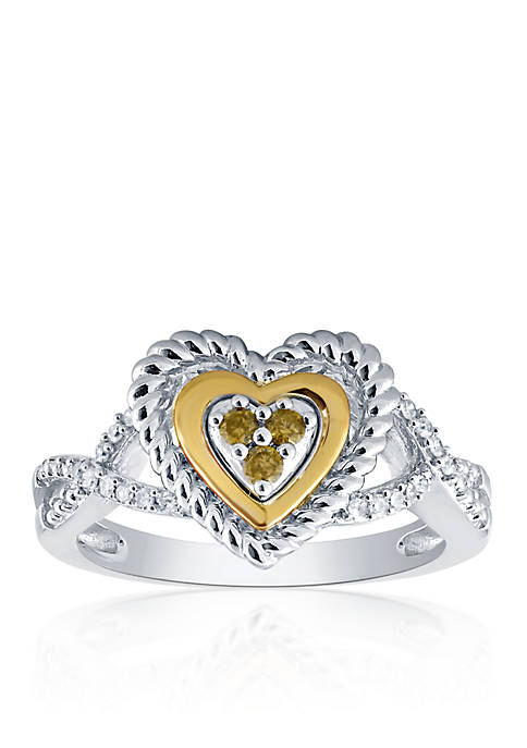 Belk & Co. 0.16 ct. t.w. Diamond Heart