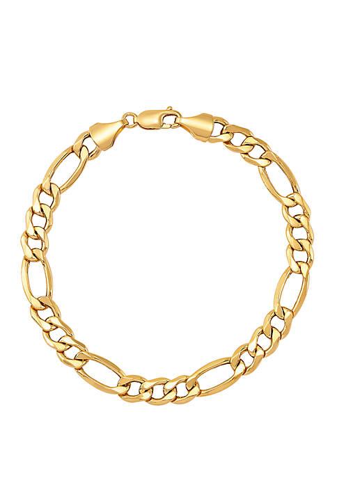 Belk & Co. Mens Chain Bracelet in 14K