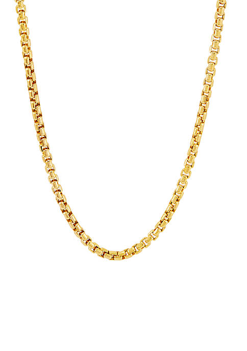 Belk & Co. Chain Necklace in 14k Yellow