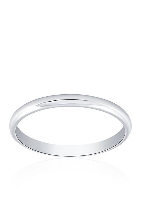 Belk & Co. Polished Wedding Band Ring in