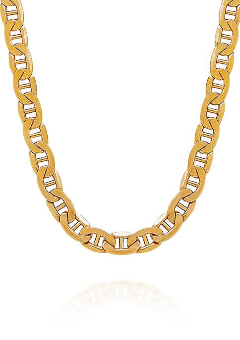 10k Yellow Gold Link Chain Necklace