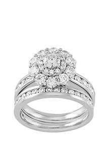 Belk & Co. 2.5 ct. t.w. Round Diamond Bridal Ring in 10k White Gold
