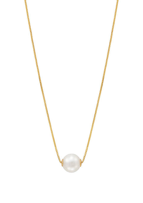 Belk & Co. 5 mm Freshwater Pearl Pendant