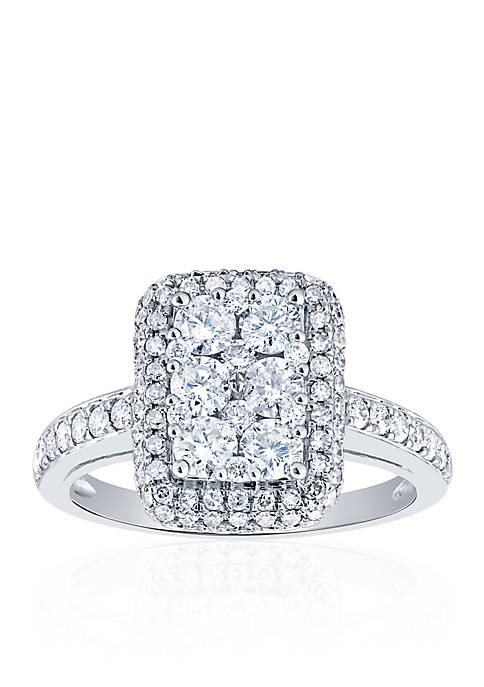 Belk & Co. 1.49 ct. t.w. Diamond Rectangle