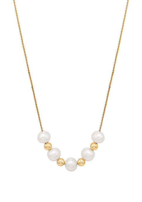 Belk & Co. Fresh Water Pearl Necklace with