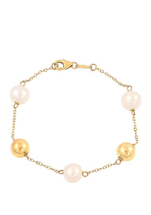 Belk & Co. Fresh Water Pearl Bracelet with