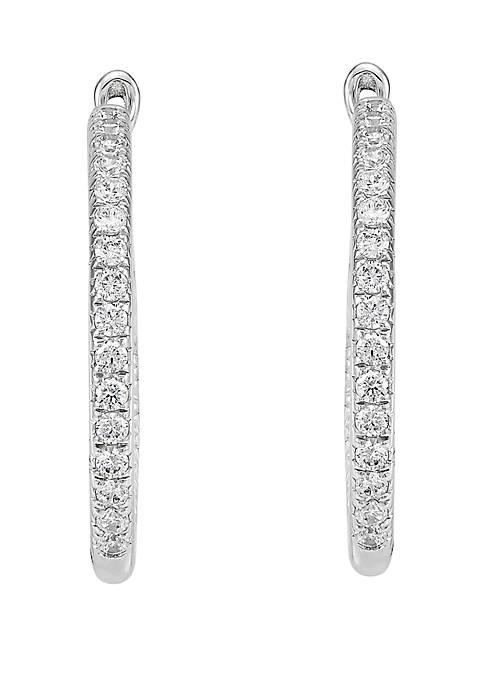 Belk & Co. 1.0 ct. t.w. Diamond Hoop