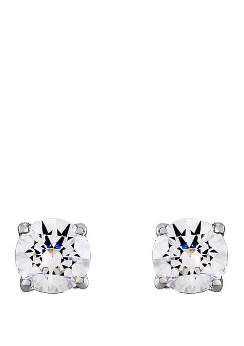 1 ct. t.w. Lab Created Diamond Stud Earrings in 14K White Gold