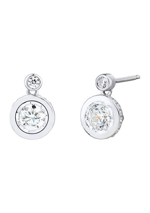1 ct. t.w. Diamond Earrings in 10K White Gold
