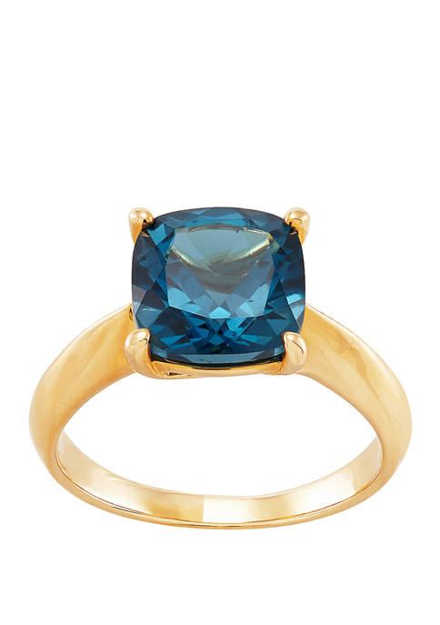 Belk & Co. Blue Topaz Ring in 10K