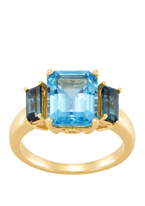 Belk & Co. Swiss Blue Topaz and London