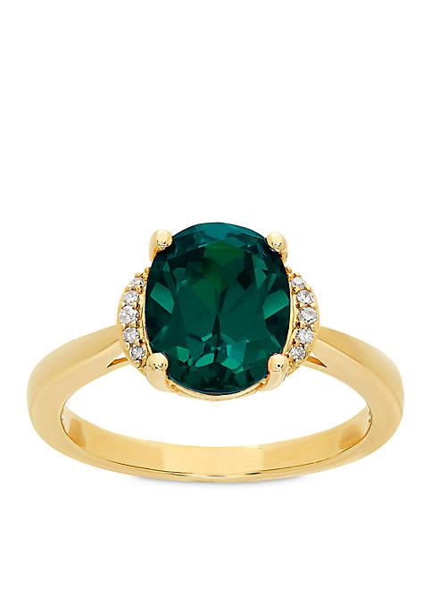 Belk & Co. 2.6 ct. t.w. Created Emerald
