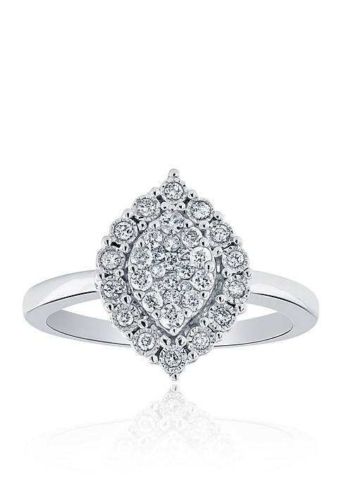 Belk & Co. 0.34 ct. t.w. Marquise Diamond