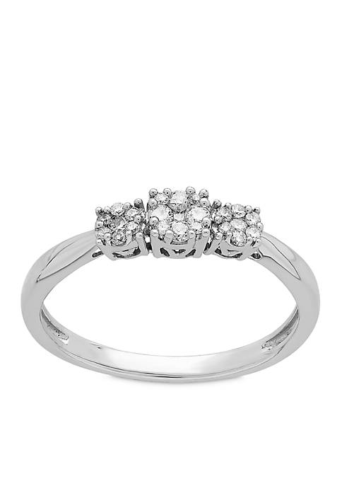 My Forever 1/5 ct. t.w. Diamond Bridal Ring in 10k White Gold
