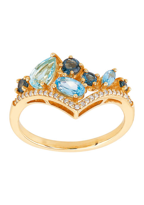 Belk & Co. 1.21 ct. t.w. Topaz and