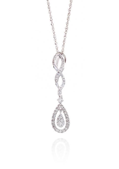 Belk & Co. 0.27 ct. t.w. Diamond Pear