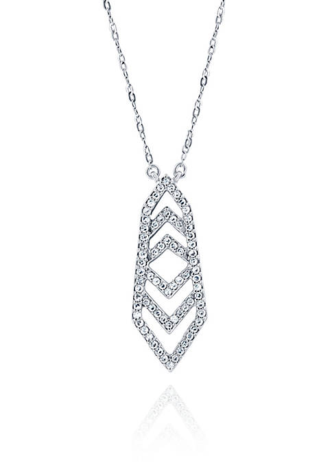Belk & Co. 0.20 ct. t.w. Diamond Chevron