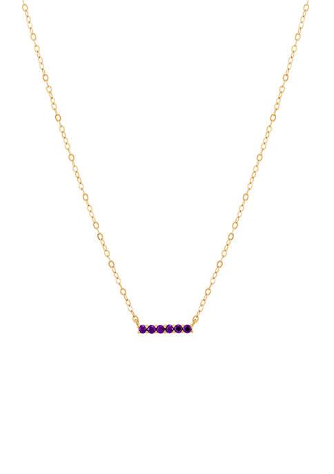Belk & Co. 10 Karat Gold Necklace