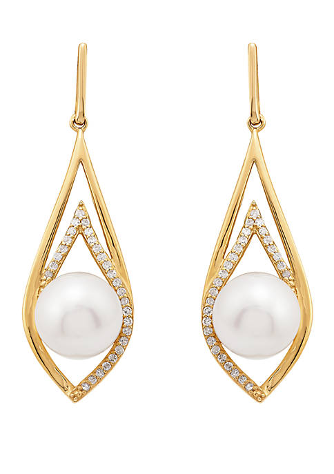 Belk & Co. Fresh Water Pearl with 1/5