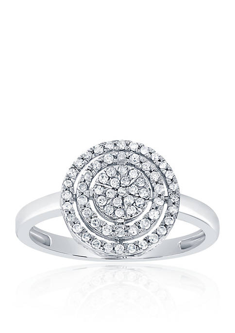Belk & Co. 0.26 ct. t.w. Circle Diamond