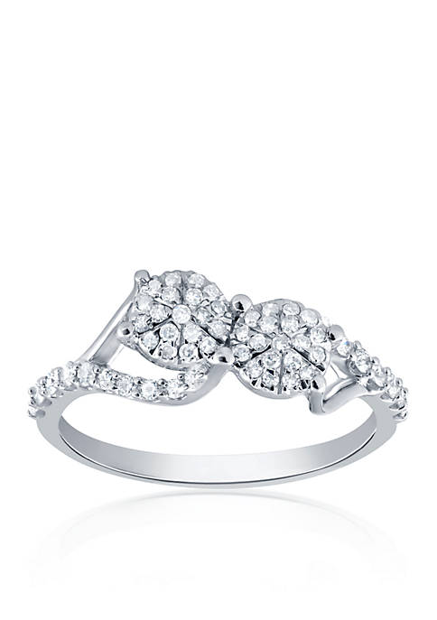 0.338 ct. t.w. Diamond Ring in 10k White Gold
