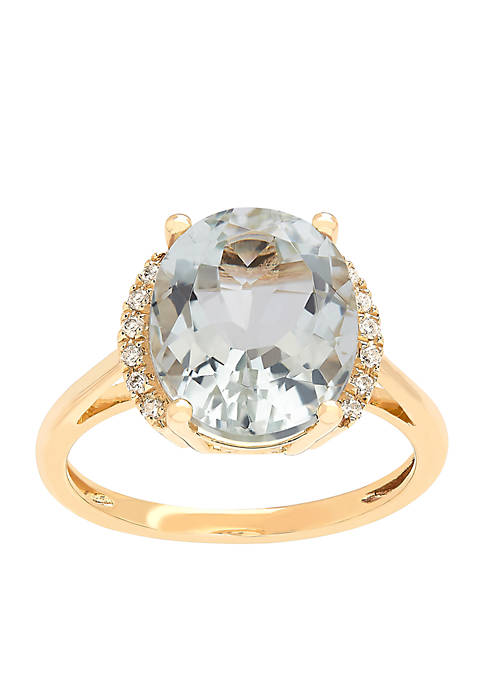 Belk & Co. 5 ct. t.w. Green Amethyst