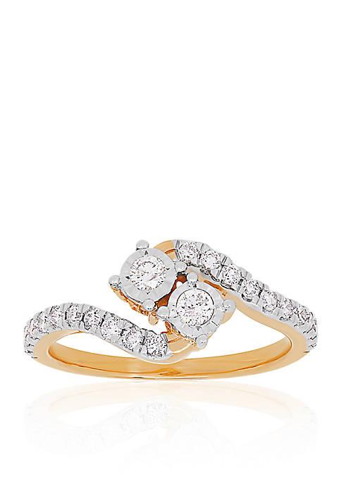Belk & Co. 0.504 ct. t.w. Diamond Ring