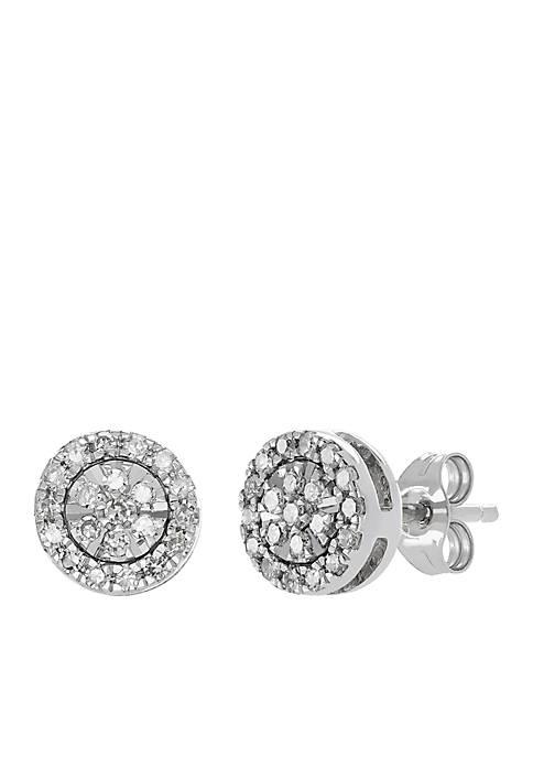 Belk & Co. 1/5 Diamond Stud Earrings in