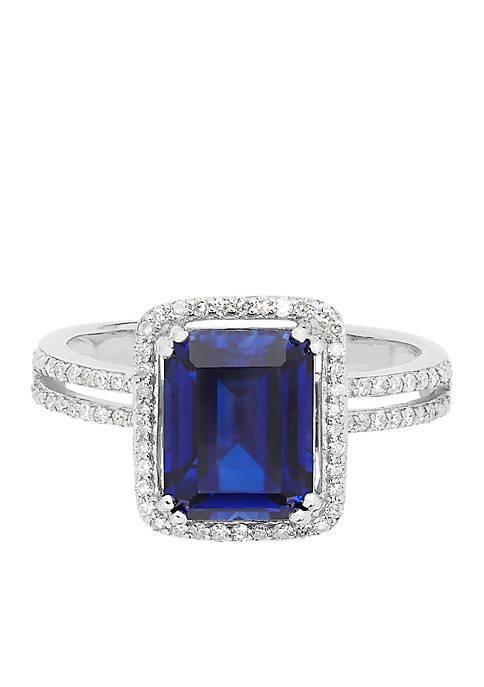 Belk & Co. 3.0 ct. t.w. Created Sapphire