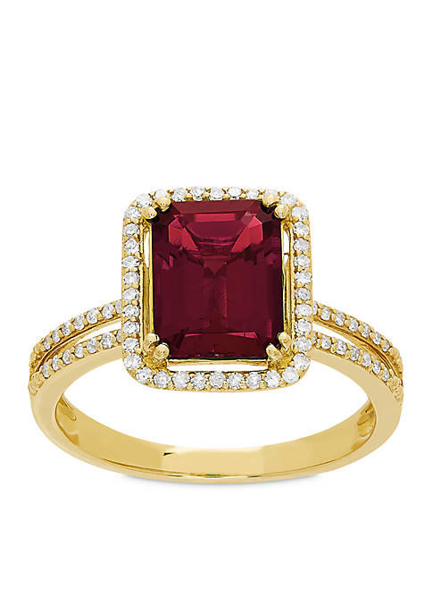 Belk & Co. 3.0 ct. t.w. Created Ruby