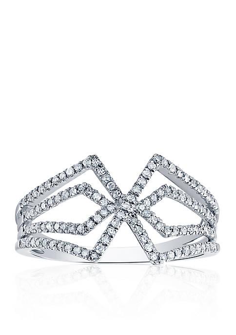 Belk & Co. .339 ct. t.w. Diamond Ring