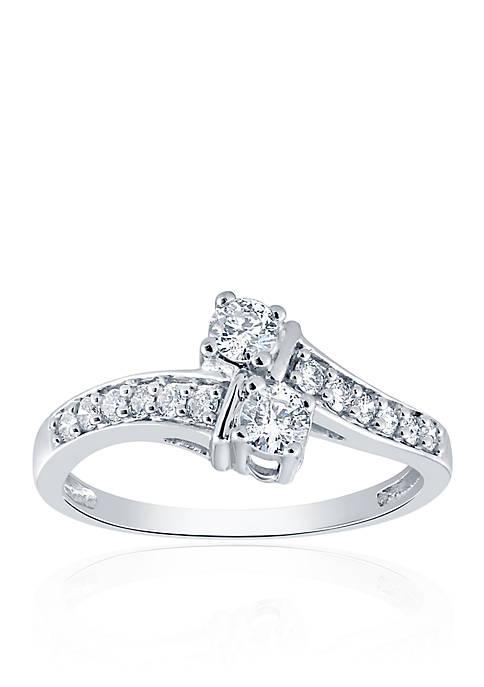 Belk & Co. .484 ct. t.w. Diamond Ring