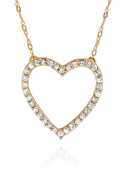 Belk & Co. 0.14 ct. t.w. Diamond Heart
