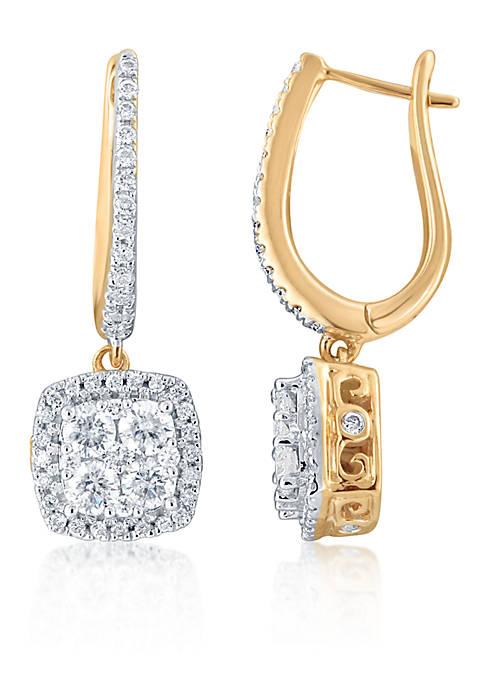 Belk & Co. 1.26 ct. t.w. Diamond Earrings