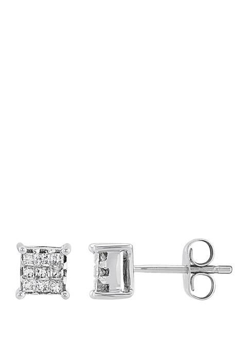 Belk & Co. 1/4 ct. t.w. Diamond Earrings