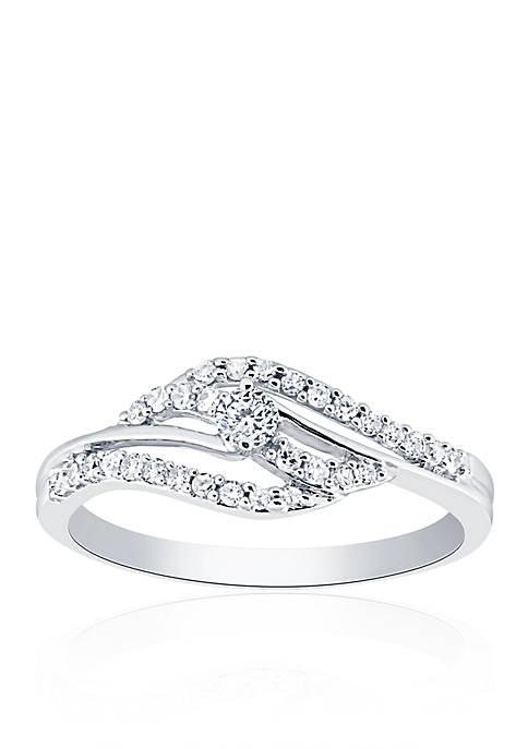 Belk & Co. 1/4 ct. t.w. Diamond Swirl