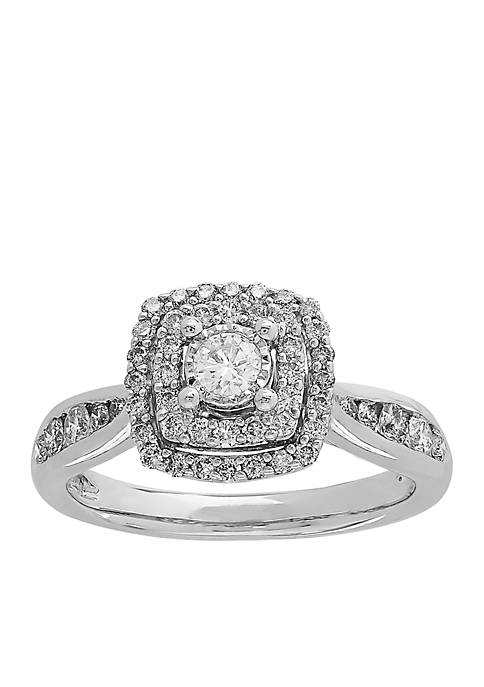 Belk & Co. 3/4 ct tw Diamond Ring